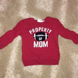 Property Of Mom Sweatshirt